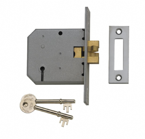 Union 2477 3 Lever Sliding Door Mortice Deadlock